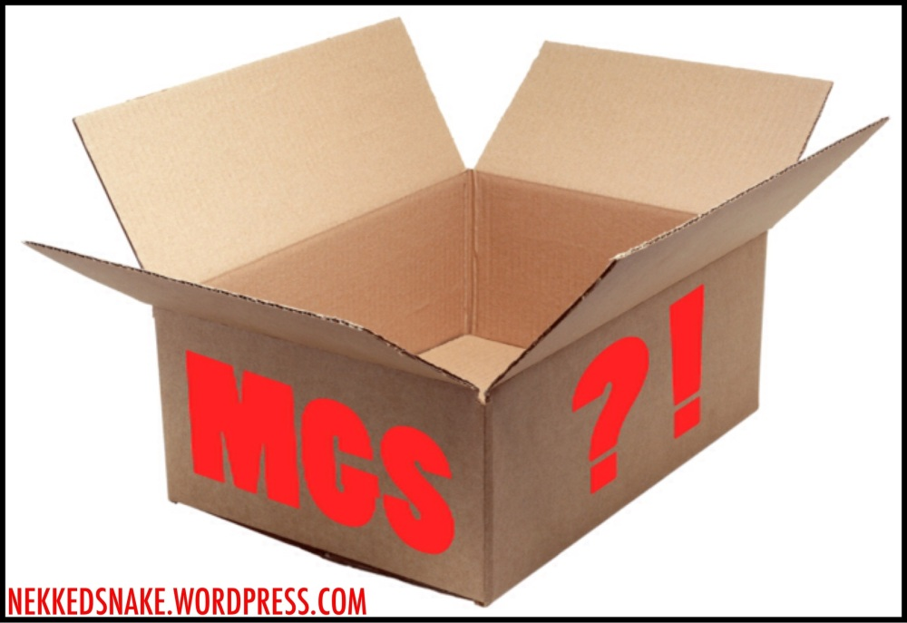 MGS: The Evolution Of The Cardboard Box (1/6)